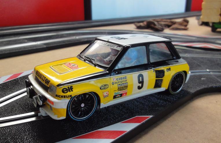 ZZSLOT Cpto. Aragón RallyeSlot 1/24 2012