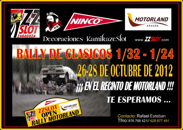 RallySlot Clásicos Motorland Aragón